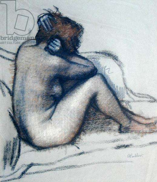 Nude, 1950 (pastel on paper)