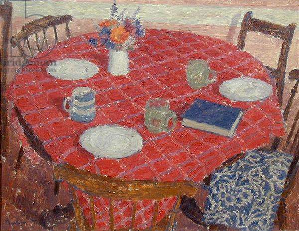 Red Table Cloth, 1944 (oil on canvas)