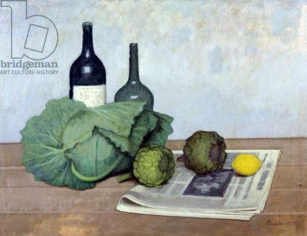 Still Life, 1970 (oil on canvas)