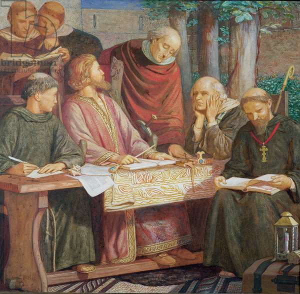 Alfred translates 'Pastoral Care' by Pope Gregory the Great, 1909