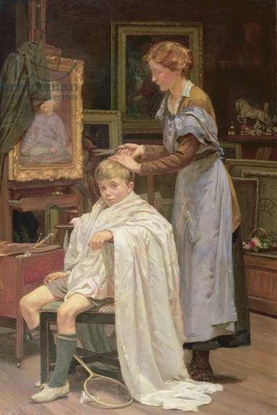 Haircut in the Studio, 1922