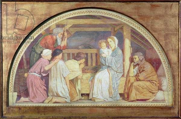 Nativity, lunette, 1904 (tempera on card)