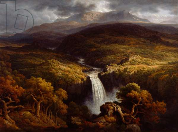Landscape, 1790-1849 (oil on canvas)