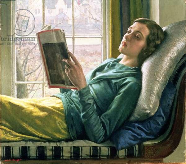 Girl reading, 1932
