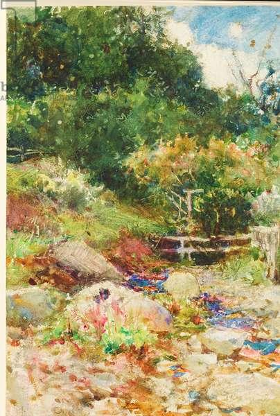 Landscape (w/c on paper)