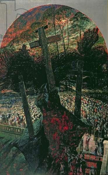 Crucifixion, 1959 (oil on hardboard)