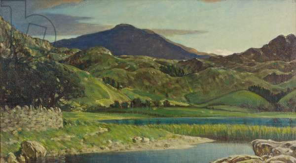 Watendlath Tarn, near Keswick, 1919 (oil on canvas)