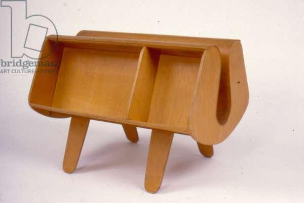 'Donkey' Magazine Rack, 1936 (plywood)