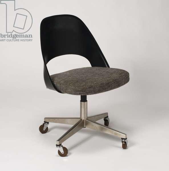 Rolling Chair (steel, plastic, nylon & foam)