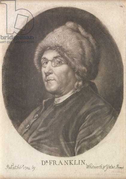 Dr. Franklin, 1784 (mezzotint)