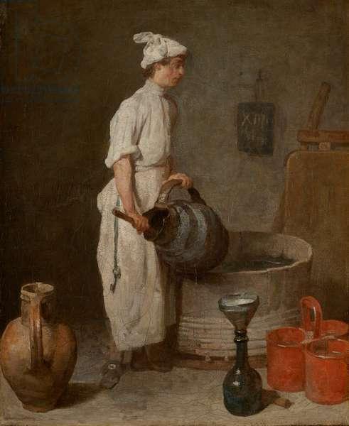 The Cellar Boy, 1738 (oil on canvas)