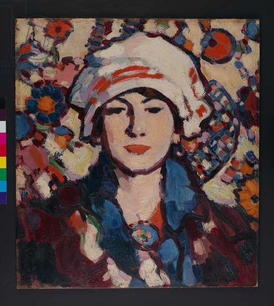 Le voile Persan, 1909 (oil on canvas)