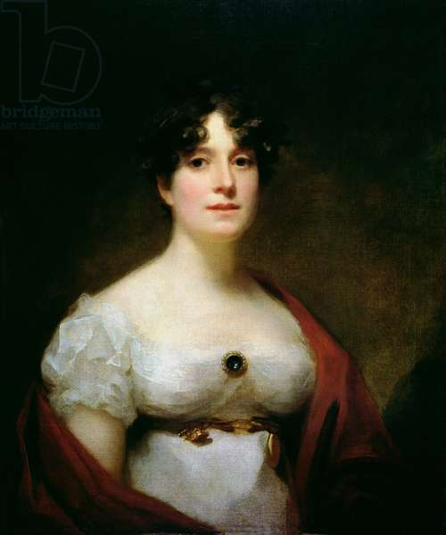Mrs Lumsden (oil on canvas)