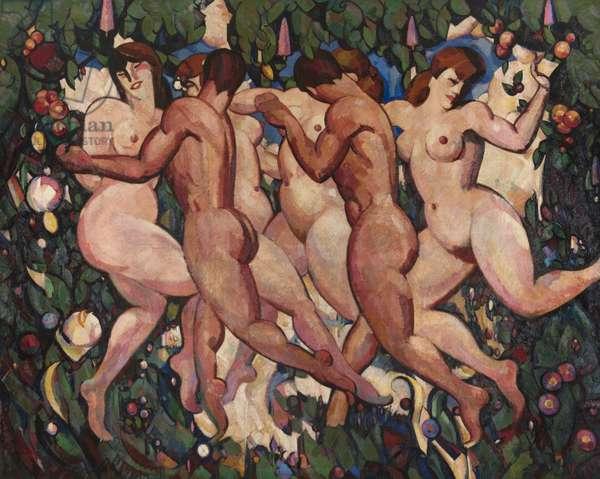 Les Eus, 1910-11 (oil on canvas)