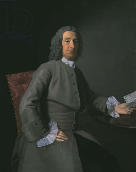 John Sargent the Elder, 1753 (oil on canvas)