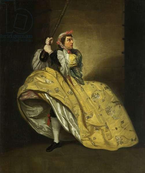 David Garrick as John Brute in the 'Provok'd Wife' by Vanbrugh, Drury Lane, c.1763 (oil on canvas)