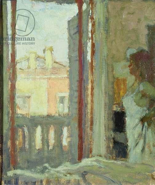 Window in Venice (oil)