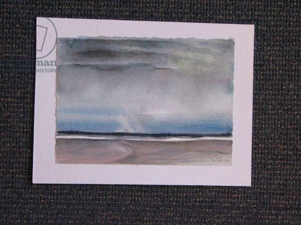 Low Tide, Aberlady Bay, 2005 (w/c on paper)