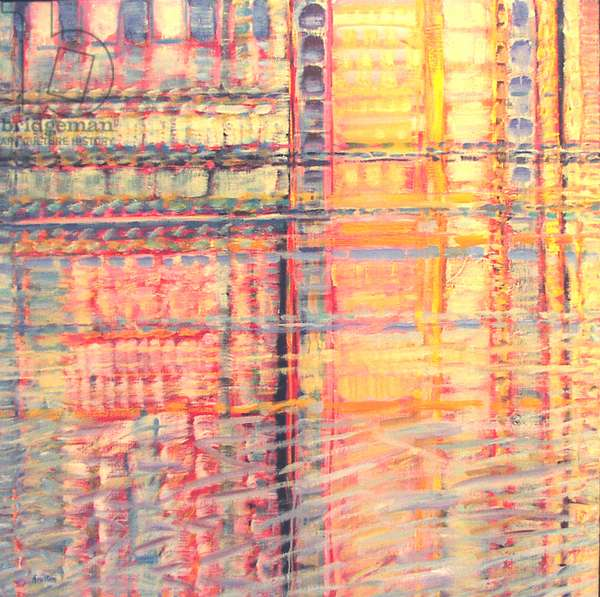 Grand Canal Series No. 11, 2002-03 (oil on canvas)
