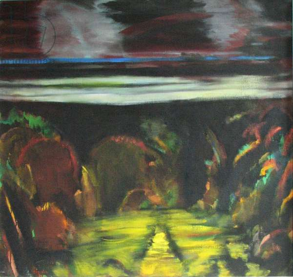 Path to a Northern Forrest, 1995 (oil on canvas)
