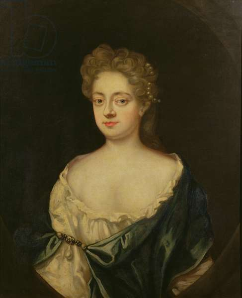 Portrait of Mary, sister of Sir Robert Walpole (1676-1745) wife of Sir C. Turner (oil on canvas)