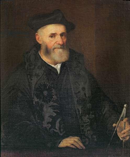 Portrait of an Architect (oil on canvas)