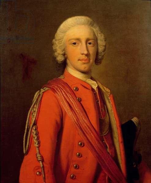 Portrait of Lord George Cholmondeley Malpas (oil on canvas)