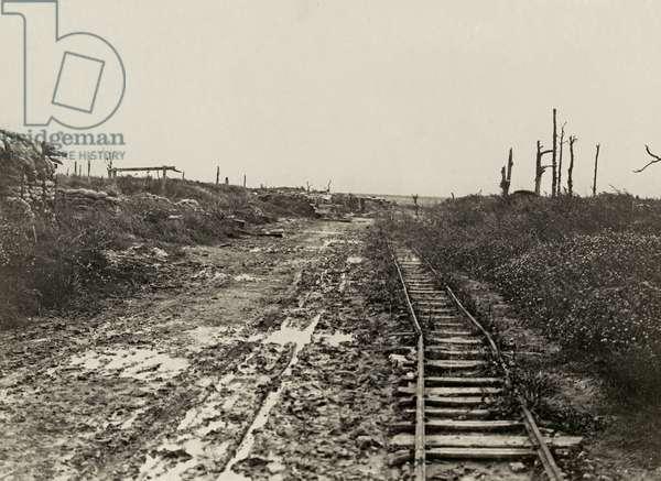 Longueval, Autumn 1917 (b/w photo)