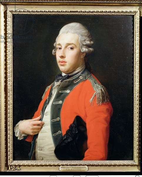 Portrait of George James, 1st Marquess of Cholmondeley