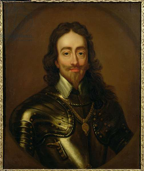 Portrait of King Charles I of Great Britain and Ireland (1600-49) (oil on canvas)