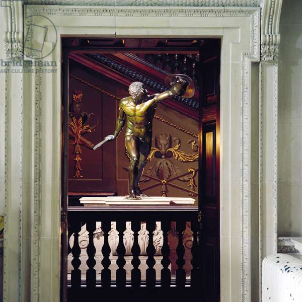 View of the Gladiator from the Stone Hall, Houghton Hall, Norfolk (photo)