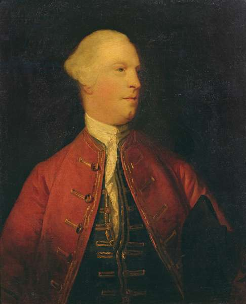 Portrait of General James Cholmondeley, c.1759-61 (oil on canvas)