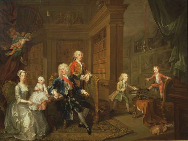 The Cholmondeley Family, 1732