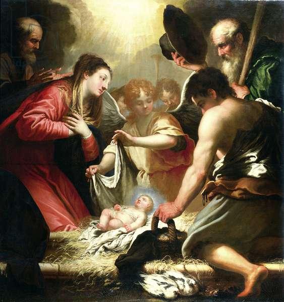The Nativity (oil on canvas)