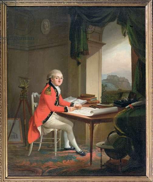 Captain Andrew Frazer, R.E. (d.1792) architect of St. Andrew's church, Edinburgh