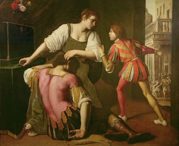 Samson and Delilah (oil on canvas)