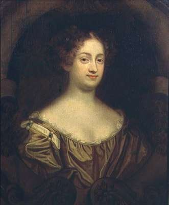 Portrait of Louise Renee Kerouaille, Duchess of Portsmouth and Aubigny (1649-1734)