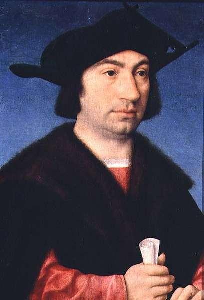 Portrait of Steffano Raggio (panel)