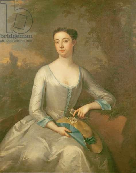 Portrait of Mary Walpole, Viscountess Malpas (d.1731) c.1725 (oil on canvas)