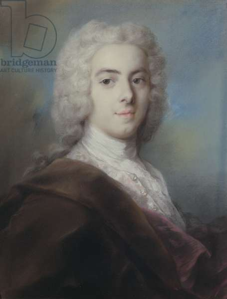 Portrait of Edward Walpole (d.1784) second son of Sir Robert Walpole (1676-1745) (pastel)
