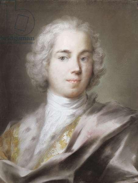 Portrait of Robert, Lord Walpole (d.1751) eldest son of Sir Robert Walpole (1676-1745) (pastel)