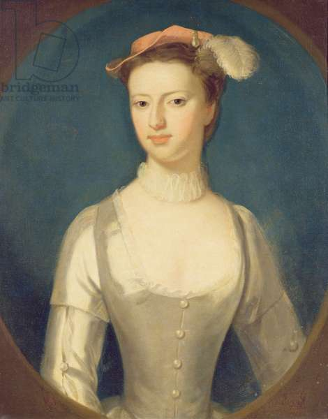 Portrait of Margaret Rolle, later Countess of Orford (oil on canvas)