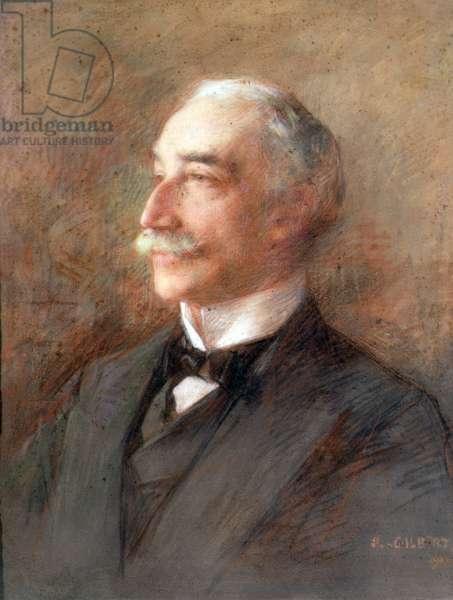 Portrait of Sir Edward Sassoon (1856-1912) 1911 (pastel on paper)