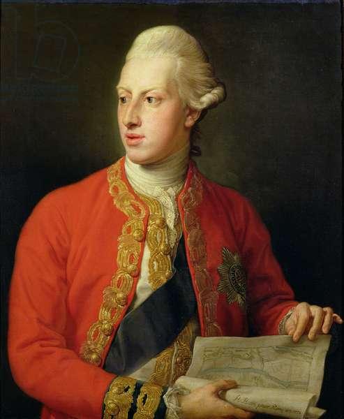 Portrait of William Henry, Duke of Gloucester (1743-1805) 1772 (oil on canvas)