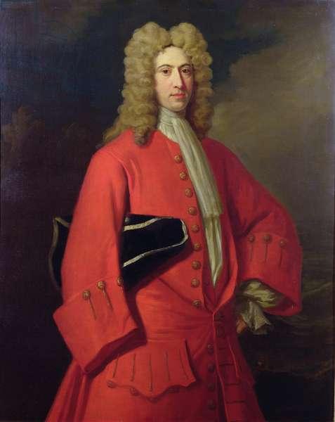 Portrait of Galfridus Walpole, (c.1683-1726) (oil on canvas)
