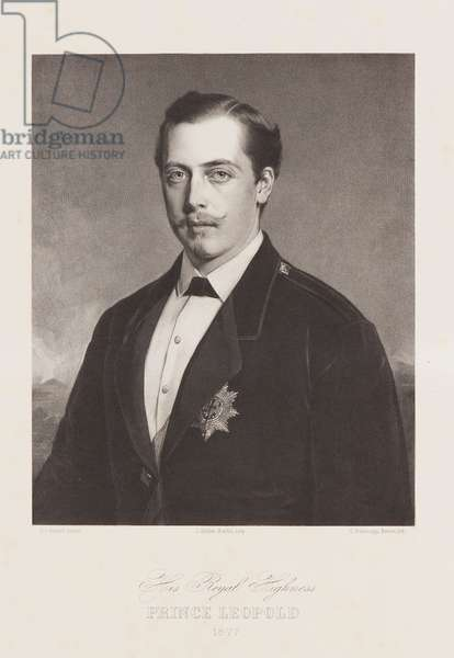 His Royal Highness, Prince Leopold, 1877