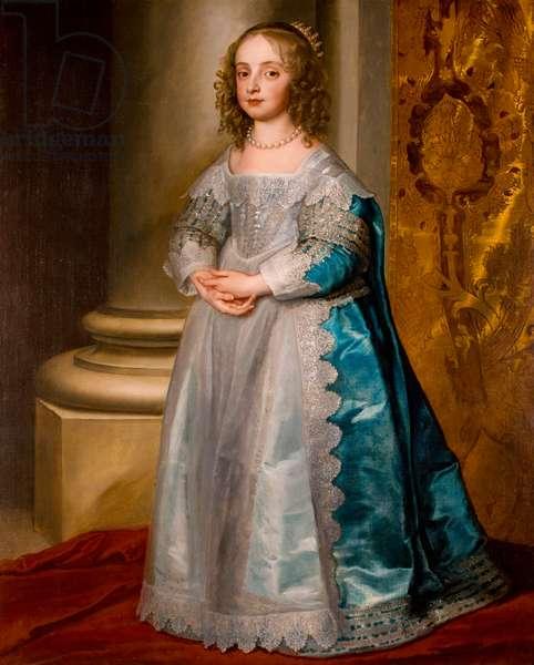 Princess Mary Stuart, 1637 (oil on canvas)