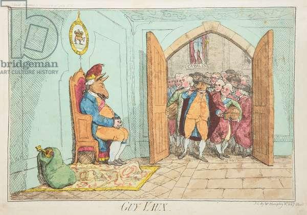 Guy Vaux, 1782 (coloured engraving)