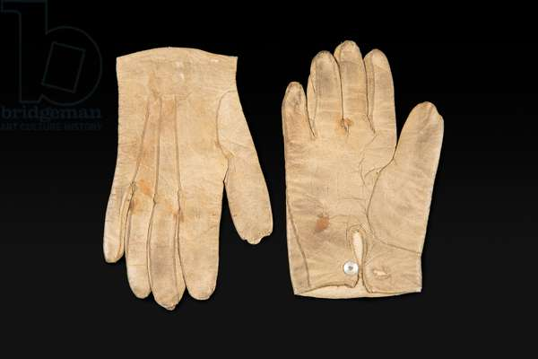 Prince of Wales's gloves, late 19th century