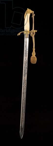 Victorian sword, c.1837-1901 (metal)